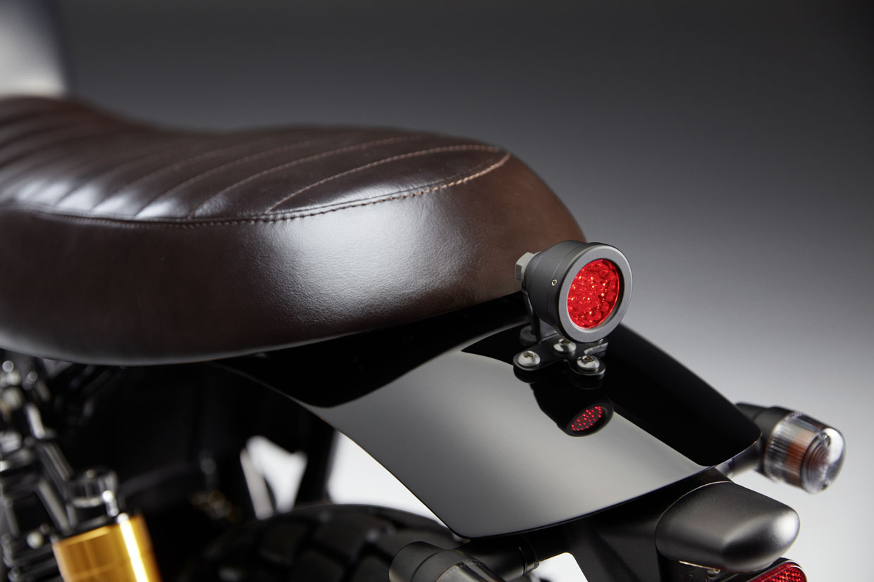 Triumph street twin Street Sleeper Custom rear fender