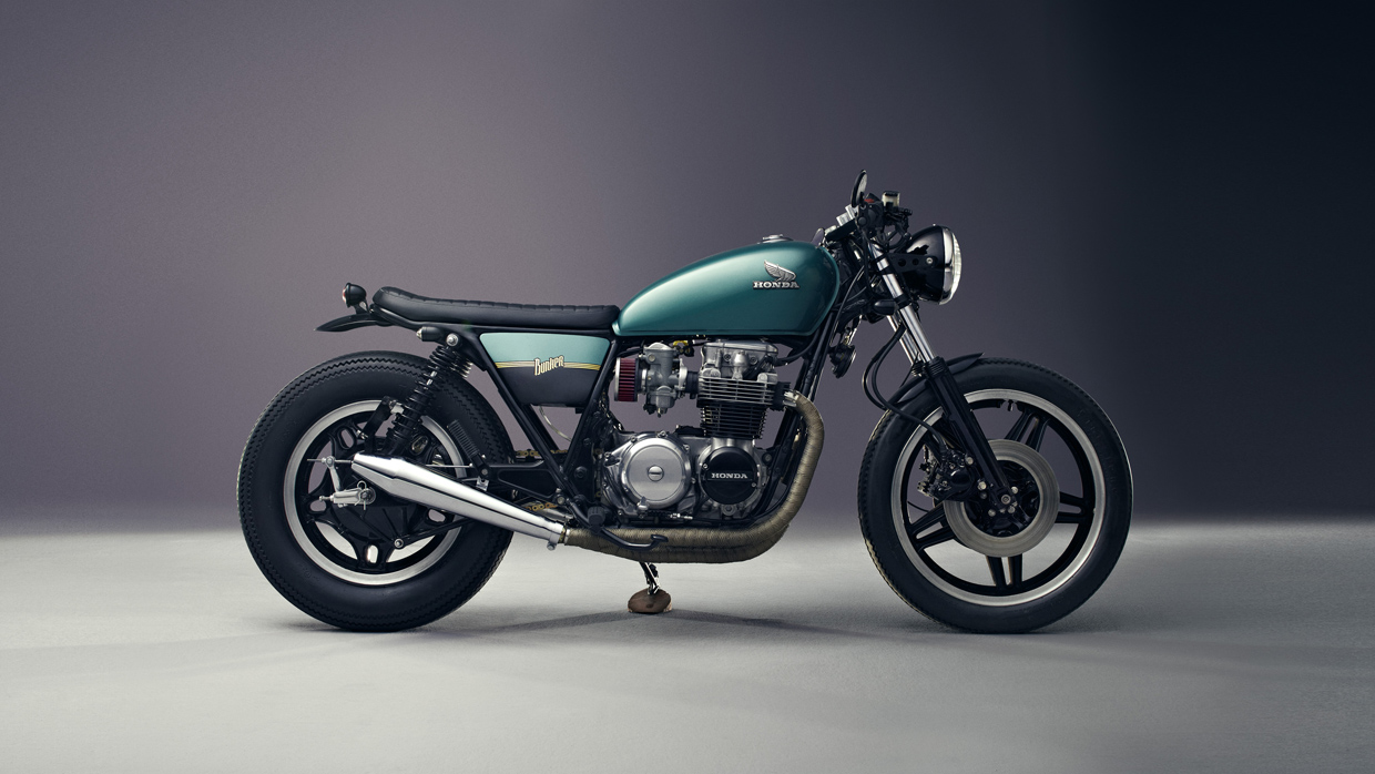 Honda CB 650 C Custom by Bunker